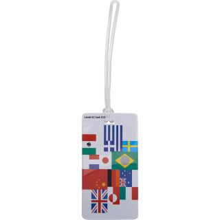 LEWIS N CLARK International Flag Luggage Tag