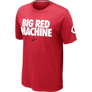 NIKE Mens Cincinnati Reds Big Red Machine Local Short Sleeve T Shirt 12