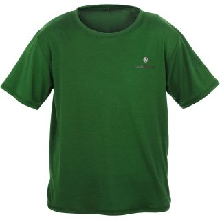 Lucky Bums Kids Super Soft Short Sleeve Tee   Size Large, Green (215GRL)