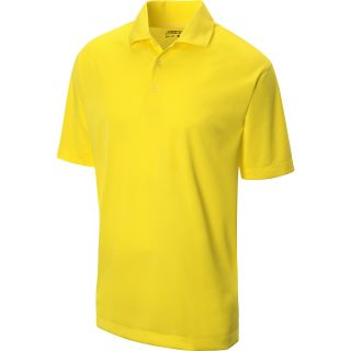 NIKE Mens Stretch Tech Golf Polo   Size Medium, Yellow