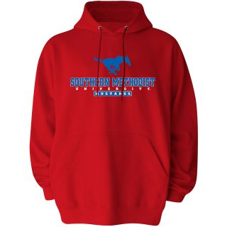 T SHIRT INTERNATIONAL Mens Southern Methodist Mustangs Reload Pullover Hoody