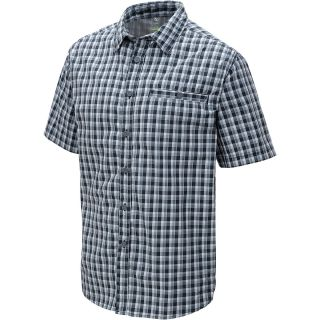ALPINE DESIGN Mens Tech Short Sleeve Shirt   Size Large, Caviar