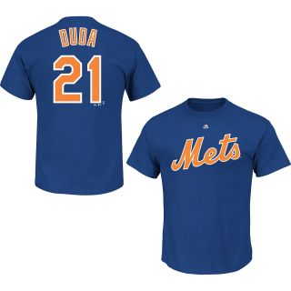 MAJESTIC ATHLETIC Mens New York Mets Lucas Duda Player Name And Number T Shirt