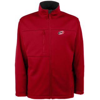 Antigua Mens Carolina Hurricanes Traverse Fleece Back Full Zip Jacket   Size