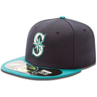 NEW ERA Mens Seattle Mariners Authentic Collection Alternate 59FIFTY Fitted