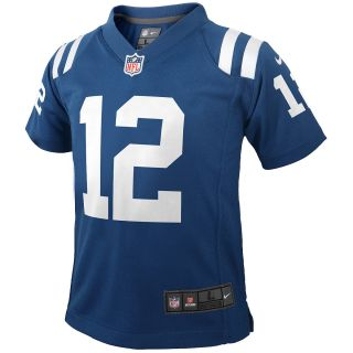 NIKE Youth Indianapolis Colts Andrew Luck Game Jersey, Ages 4 7   Size Medium
