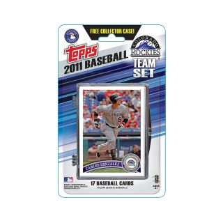 Topps 2011 Colorado Rockies Official Team Baseball Card Set of 17 Cards in