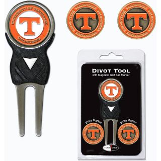 Team Golf University of Tennessee Volunteers 3 Marker Signature Divot Tool Pack