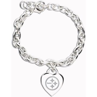 Wincraft Pittsburgh Steelers Heart Charm Bracelet (62377091)