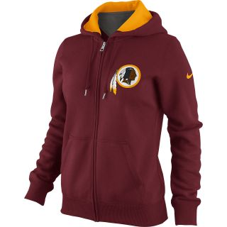 NIKE Womens Washington Redskins Tailgater Fleece Full Zip Hoody   Size Medium,