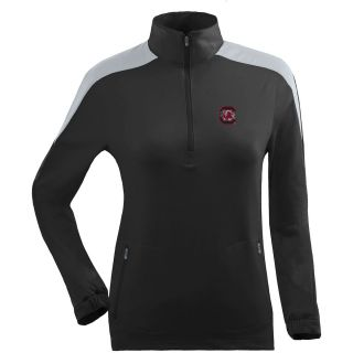 Antigua Womens South Carolina Gamecocks Succeed Front Fleece Half Zip Pullover