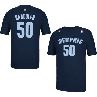 adidas Mens Memphis Grizzlies Zach Randolph Player Name And Number T Shirt