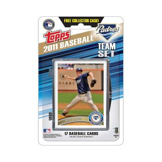 Topps 2011 San Diego Padres Official Team Baseball Card Set of 17 Cards in