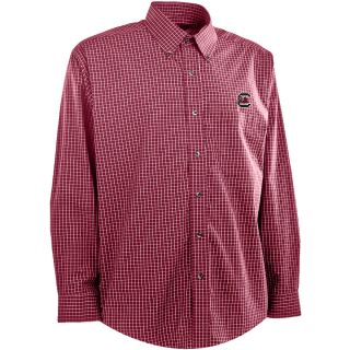 Antigua Mens South Carolina Gamecocks Esteem Cotton/Polyester Box Pattern Yarn