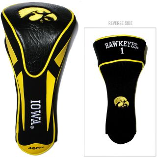 Team Golf University of Iowa Hawkeyes Single Apex Head Cover (637556215680)