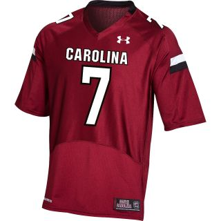 UNDER ARMOUR Youth South Carolina Gamecocks Game Replica Football Jersey   Size