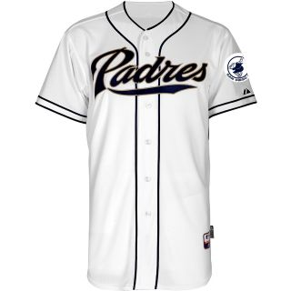 Majestic Athletic San Diego Padres Blank Authentic Home Cool Base Jersey   Size