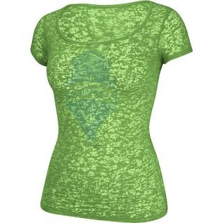 adidas Womens Seattle Sounders FC Scoop Neck Short Sleeve T Shirt   Size