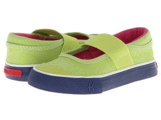 See Kai Run Kids Jersey Girls Shoes (Green)