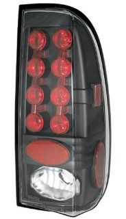 IPCW LEDT 561CB Bermuda Black LED Tail Lamp   Pair Automotive