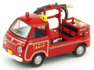 Subaru Sambar Fire Truck   Tomica Limited Vintage 1/64th Scale Model Toys & Games
