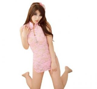 Yamimi Chinese cheongsam Lace sexy lingerie lovely lady girls gifts, Rose