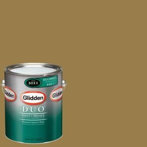 Glidden Team Colors 1 gal. #NFL 182A NFL St. Louis Rams Gold Eggshell Interior Paint and Primer NFL 182A E 01