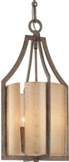 Minka Lavery 4392 573 Three Light Pendant from the Clarte Collection, Patina Iron   Ceiling Pendant Fixtures