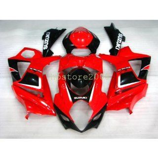 ABS Bodywork Fairing Compatible For SUZUKI GSXR1000 K7 2007 2008 Injection Mold Automotive