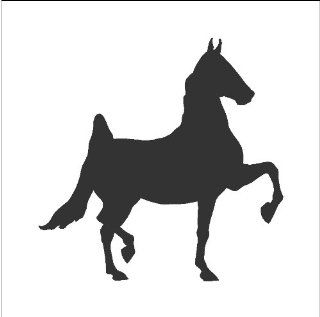 Chalkboard Vinyl Horse Wall Decals Stickers Removable and Repositionable Wall Art   Wall Decor Stickers
