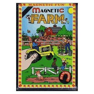 Farm Magnetic Tin Toys & Games