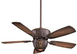 Minka Aire F564 DRB Los Lunas 5 Blade Ceiling Fan in Dark Restoration Bronze