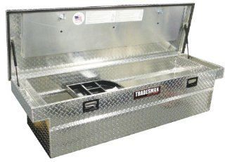 "Lund/Tradesman TALF581SF 70"" Full Size Aluminum Cross Bed Truck Tool Box with Single Foam Filled Lid Automotive"