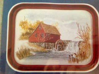 Cathy Needlecraft, Vintage, Watercolor Accent, Vintage Classic Series, Mill Pond 4057 Kit