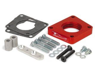 Airaid 400 587 PowerAid Red Anodized Aluminum Throttle Body Spacer Automotive