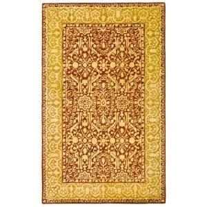 Safavieh Silk Road Maroon and Ivory 5 ft. x 8 ft. Area Rug SKR213G 5