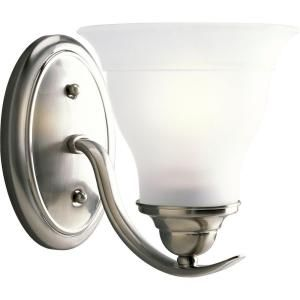 Progress Lighting Trinity Collection 1 Light Brushed Nickel Bath Light P3190 09