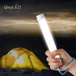 [Rechargeable Led Flashlight] OxyLED Q6 Portable Multi Functional 4 Level Adjustable Brightness Led Lamp / Lantern with Built in Battery for Fishing / Camping / Hiking / Tent / Emergency (Mini USB Charging)   Blue   Basic Handheld Flashlights