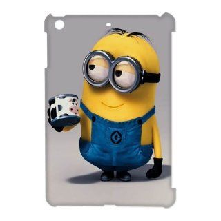 TP DIY Fashion Style Minion Custom Design Back Case Cover for Apple Ipad Mini   Despicable Me Series TP DIY 00832 Cell Phones & Accessories