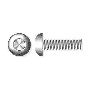 (600pcs) #10 24 X 1/2 Button Head Socket Cap Screws Stainless Steel 18 8 Ships Free in USA