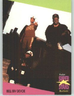 1991 Pro Set Superstars MusicCards U.K. Edition # 9 Bell Biv Devoe (Collectible Pop Music / Rock Star Trading Card) Toys & Games
