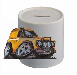 LAND ROVER DEFENDER Koolart CERAMIC MONEYBOX (FREE PERSONALISATION )582   Toy Banks