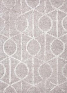 Addison and Banks AMZ_CT0269 Modern Geometric Pattern Wool/Silk Hand Tufted Rug, 3.6 by 5.6 Feet