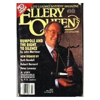 Ellery Queen's Mystery Magazine. July, 1991. Vol. 98 No. 1. Whole Number 585. John Mortimer [Rumpole], P D James +. (ELLERY QUEEN'S MYSTERY MAGAZINE, Volume 98) John Mortimer, P. D. James, Ruth Rendell, Robert Barnard, Peter Lovesey, Eleanor Sulli