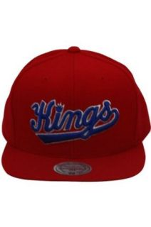Mitchell And Ness Mitchell And Ness NBA Throwback Sacramento Kings Snapback Hat Red Clothing