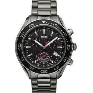 Timex SL Series Chronograph Black Dial Men's watch #T2N590 at  Men's Watch store.