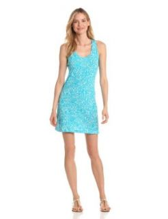 Lilly Pulitzer Women's Cordon Dress, Turquoise Mini Party Favors, Large