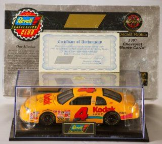 1997   Revell Monogram Inc / NASCAR   Sterling Marlin   #4 Kodak Chevrolet Monte Carlo   124 Scale Die Cast Stock Car   Display Case   COA   Out of Production   Very Rare   1 of 1,596 Made   Numbered   Limited Edition   Collectible Toys & Games