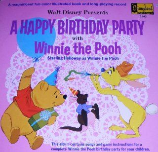 A Happy Birthday Party With Winnie The Pooh Music