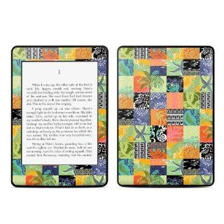 Tropical Patchwork Design Protective Decal Skin Sticker for  Kindle Paperwhite eBook Reader (2 point Multi touch)  Players & Accessories